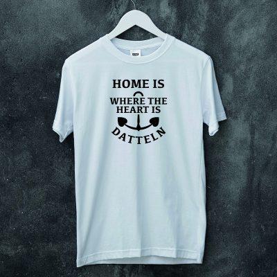 Herren-Shirt Home is where the heart is